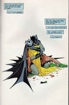The death of Jason Todd AKA Robin II. Later this was retconned by DC. Art by Lee Weeks. <<<<< huh, I didn't know that, cool Xx