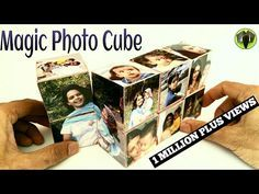 Magic Photo Cube Album for Mother's Day - DIY Tutorial by Paper Folds ❤️ - YouTube