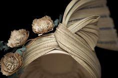 Jinsin turban - Louise Pocock millinery