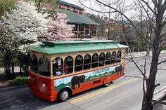 Gatlinburg, Tn - trolley