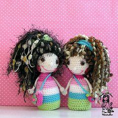 Crochet doll  pdf pattern by VendulkaM on Etsy, $4.80