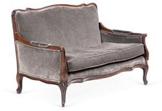 19th-C. French Settee