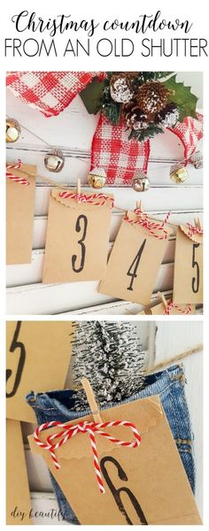 This cute Christmas countdown has little goodies for every day!
