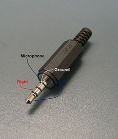 4-Connector Pinout - Male