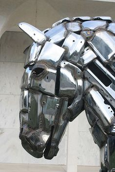 Horse Sculpture at Mt. Vernon, Illinois - photo by jclegill, via Flickr