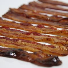 Pig Candy grilled on the Big Green Egg - sweet, crispy...and who doesn't love bacon?!