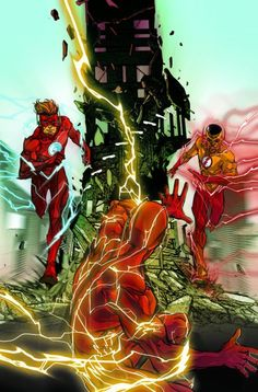 Kid Flash of Two Worlds: Flash #8-9 in October