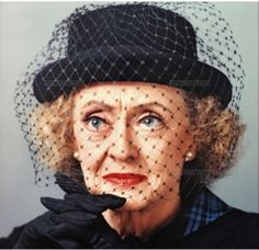 """Old age ain't no place for sissies."" - Bette Davis (1982) via @bestactressforever on Instagram"