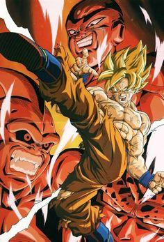 Goku e os Vilões...