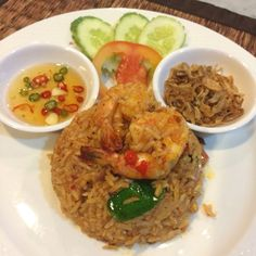 Fried Rice, Fries, Yummy Food, Ethnic Recipes, Delicious Food, Nasi Goreng, Stir Fry Rice