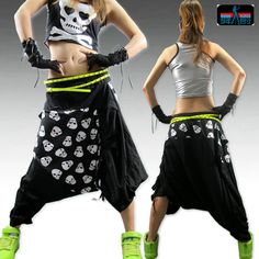 Loose casual harem pants hip hop jazz dance costume hip hop harem pants for girls € Hip Hop Costumes, Jazz Dance Costumes, Dance Fashion, Hip Hop Fashion, Funky Outfits, Cute Outfits, Ugly Dance, Vetement Hip Hop, Hip Hop Dance Outfits