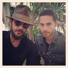 Double the Leto, double the sexy!! <3