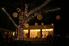 outdoor wedding reception ideas, outdoor wedding lighting ideas