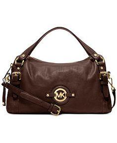 8c5150c6c85 MICHAEL Michael Kors Handbag, Stockard Medium Shoulder Satchel - MICHAEL Michael  Kors - Handbags  amp. Fashion StylesWomen s ...
