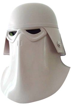 Snow trooper commander helmet