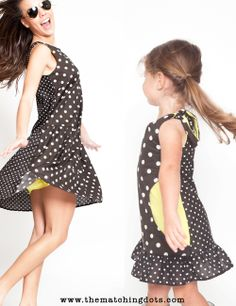 The Matching Dots 2 KIDS FED FOR EVERY ITEM SOLD #madeinusa #designer #dresses #kids #fashion #matchy-match #mommyandme #dots #be #spotted #summer