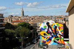 New mural by Mist in Montpellier - Urban Art NOW