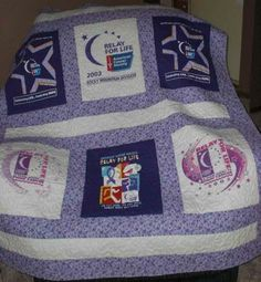 purple quilts | Relay For Life Purple Quilt