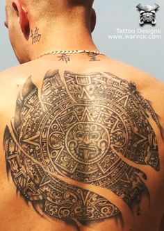 Aztec calendar Tattoo » ₪ AZTEC TATTOOS ₪ Aztec Mayan Inca Tattoo Designs Instant Download