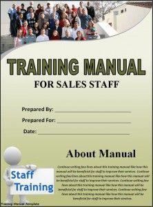 Training Manual Template Cool Writing Employee Training Word