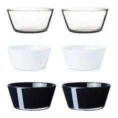 IKEA - VIKTIGT, Bowl, Each bowl has been mouthblown by a skilled craftsperson.Practical and useful bowl, suitable both for serving and eating from.