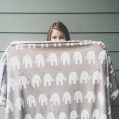 The softest blanked ever! Plus how cute are those elephants!