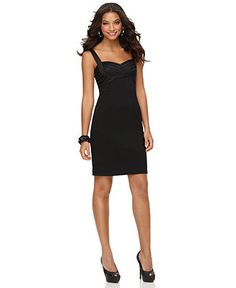 JS Collections Dress, Sleeveless Sweetheart Neck Cocktail Dress - Dresses - Women - Macy's