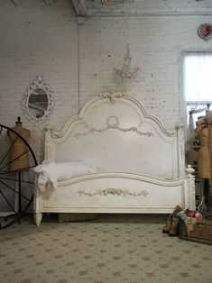 Shabby Chic Furniture Bed by nita