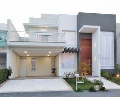 o natural, que pudessem se i… Classic House Design, House Front Design, Modern House Design, Model House Plan, Home Design Decor, Facade House, Minimalist Home, Home Fashion, Exterior Design