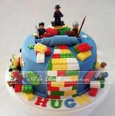 LEGO BIRTHDAY CAKE | Boys Lego Cake - by alaroch @ CakesDecor.com - cake decorating website