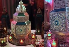 A moroccan lantern cake by Heather Barranco Dreamcakes.