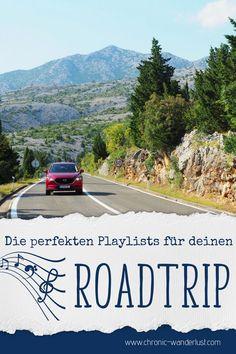 Die perfekten Playlists für einen Roadtrip voll mit Emotionen und Herz! #Roadtrip #Singen #Musik Usa Roadtrip, Roadtrip Europa, Wanderlust, Reisen In Europa, Road Trip, Country Roads, Journey, Australia, Camping