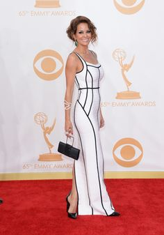 Brooke Burke-Charvet | Fashion At The 2013 Emmy Awards
