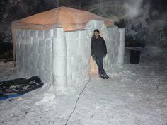 Got Snow? Build A Snow Fort!