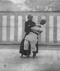 """""""Although it seems to resemble wrestling, yet it differs materially from wrestling as practiced in England, its main principle being not to match strength with strength, but to gain victory by yielding to strength."""" - Jigoro Kano describing Jujutsu"""