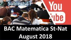 Rezolvarea Subiectului al III-lea Tehnologic Bac Matematica August 2018