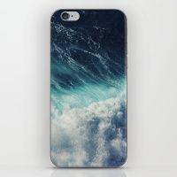 Blue ocean II iPhone & iPod Skin