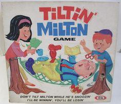 IDEAL: 1968 Tiltin' Milton Game