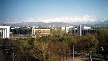 Biskek capitale del Kirghizistan -