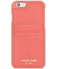dc1a42c3e2 MICHAEL Michael Kors iPhone 6 Pocket Case & Reviews - Handbags &  Accessories - Macy's