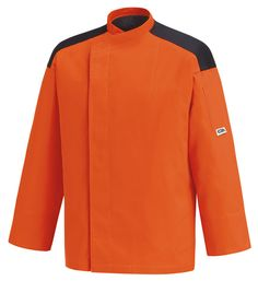 """""""Orange First"""" 65% polyester 35% cotton  by chefaporter.com"""