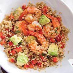 Salade de quinoa aux crevettes et avocat - Recettes - Cuisine et nutrition - Pratico Pratique