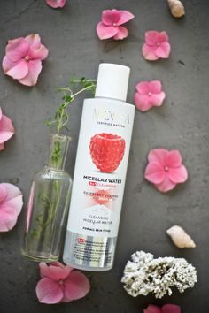 MOSSA Micellar Water Beauty Tips, Beauty Hacks, Micellar Water, Natural Cosmetics, Organic Beauty, Cleanse, Raspberry, Yellow, Products