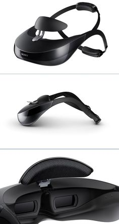 HMZ-T3W Head Mounted Display by Sony - Sit back, relax… and immerse yourself in a new world of portable entertainment. #tech: