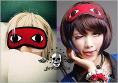 Japan Comic Visual Cosplay Gintama Okita Sougo Prince Sadism Theater Eye Mask | eBay