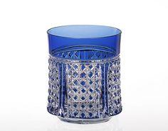 Edo Kiriko rocks glass