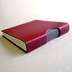 Leather journal by Sarah Mitchell