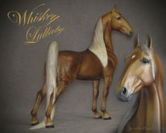 TOP LSQ CM Custom Breyer Tennessee Walking Horse Whiskey Lullaby