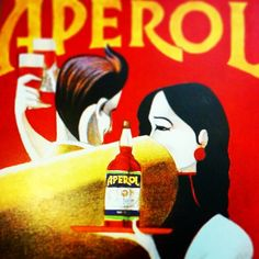 Aperol, the most important italian apertivo...now even more famous thanks to spriz, a Venetian apertivo totally unknown until a short time ago and now popular all over the world....great marketing and great communication! Do you know how to make it? #aperol #aperolspriz #spriz #italy #italian #drink #venice #venetian #tradition #traditional #prosecco #wine #vino #seltz