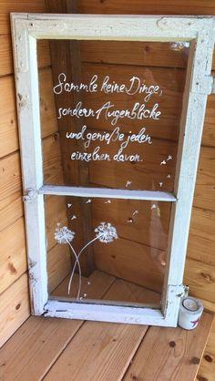 Deko, Garten, shabby chic, Muttertag, alte Fenster in Bayern - Kastl b Kemnath Shabby Chic Decor, Rustic Decor, Mothers Day Gifts From Daughter Diy, Farmhouse Shutters, Rustic Shutters, Diy Shutters, Old Windows, Antique Windows, Vintage Windows